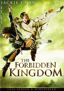 THE FORBIDDEN KINGDOM New Sealed DVD Jackie Chan Jet Li