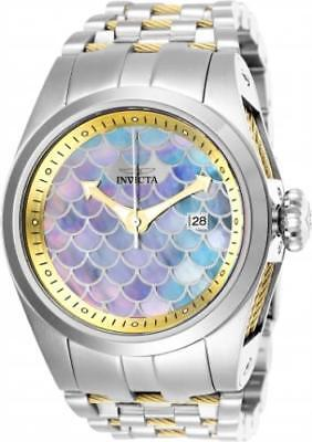 Invicta 25118 50mm Bolt Zeus Automatic Mother-of-Pearl Dial Stainless Mens Watch