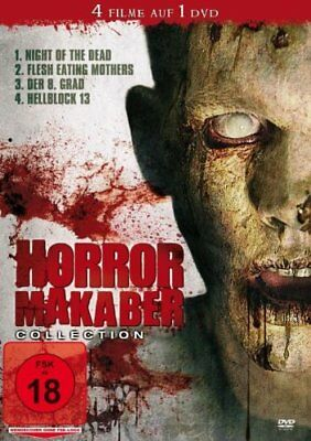 4 Horrorfilme - Hellblock 13 & Der 8. Grad & Flesh Eating Mothers & Night Of The