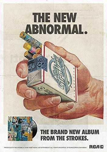 The Strokes New Abnormal Album Cover Poster Julian Casablancas Band Colour Size
