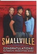 Smallville Autograph