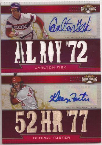 Carlton Fisk Auto Baseball EBay