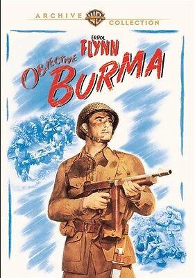 OBJECTIVE BURMA New Sealed DVD Warner Archive Collection Errol Flynn