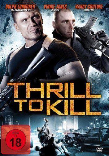 DVD/ Thrill to Kill - Dolph Lundgren - UNCUT FSK 18 !! NEUWARE !!