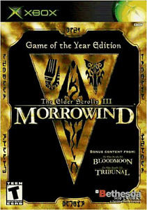 Morrowind Game of the Year Edition