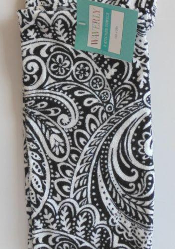 Black And White Kitchen Towels Ebay