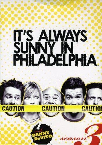 It's Always Sunny in Philadelphia: Season 3 [3 (2009, REGION 1 DVD New) Season 3