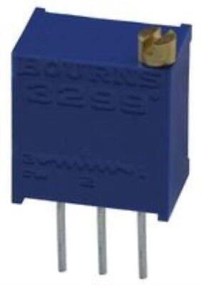 Qty 5 New 3299w-1-500lf Bourns Trimpot 3299 Series 50 Ohms Potentiometer