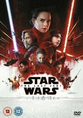 Star Wars The Last Jedi  DVD New & Sealed