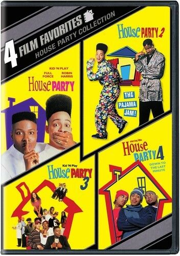 4 Film Favorites: House Party Collection [new Dvd] Full Frame, Widescr