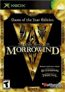 Xbox Elder Scrolls Morrowind