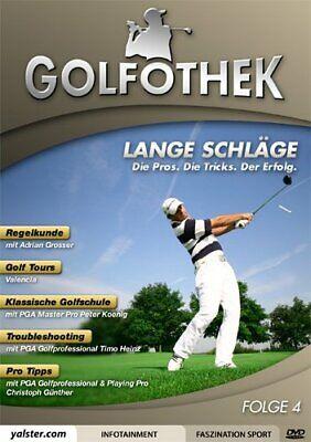Golfothek - Lange Schläge ( Regelkunde, Golf Tours, Troubleshooting ) DVD NEU