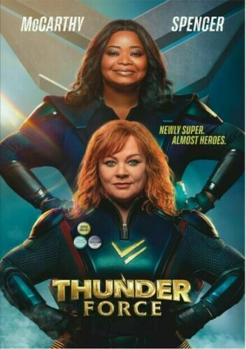 THUNDER FORCE DVD (2021)  - BRAND NEW  FREE SHIPPING WITH TRACKING