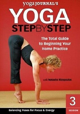 Pleasing Yoga Step By Step Vol 3 Dvd Workout Journals Balancing Poses Hairstyles For Women Draintrainus