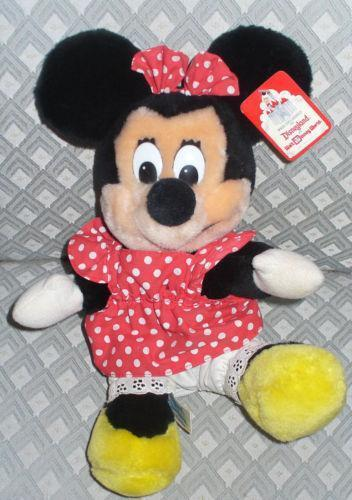 Vintage Mickey Mouse Stuffed Animal Ebay