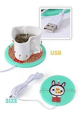 USB Powered Cup Mug Electric Warmer Coffee Tea Drink Heater Pad Beverage ()