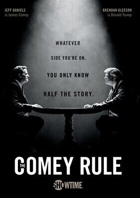 THE COMEY RULE New Sealed DVD Complete 2020 Showtime Miniseries Jeff Daniels