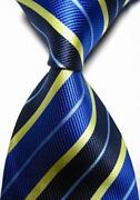 Blue Yellow Tie