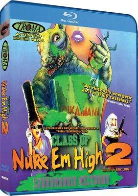 Class of Nuke 'Em High, Part II: Subhumanoid Meltdown [New Blu-ray] Dolby, (Class Of Nuke Em High Blu Ray)
