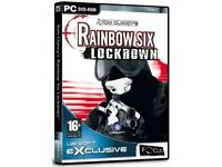 Tom Clancy's Rainbow Six: Lockdown (PC DVD) new and sealed at only £1.50