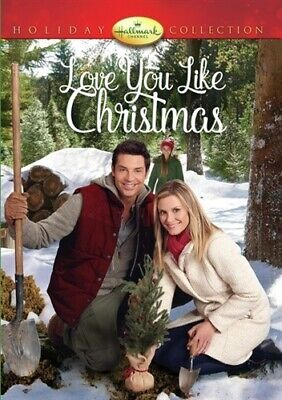 LOVE YOU LIKE CHRISTMAS New Sealed DVD Hallmark Channel Holiday Collection