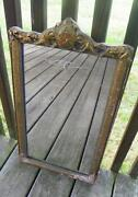 Antique Etched Mirror