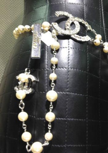Chanel Pearl Belt Ebay