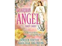 GUARDIAN ANGEL TAROT CARDS BY DOREEN VIRTUE & RADLEIGH VALENTINE - BRAND NEW IN SEALED PACKAGING