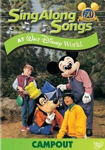 Sing-Along Songs: Campout at Walt Disney World - DVD - Sealed Region 1