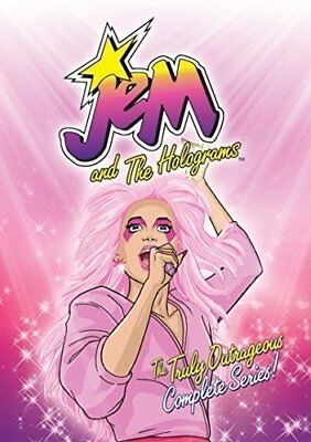 JEM AND THE HOLOGRAMS TRULY OUTRAGEOUS COMPLETE SERIES New DVD Cut UPC Barcode
