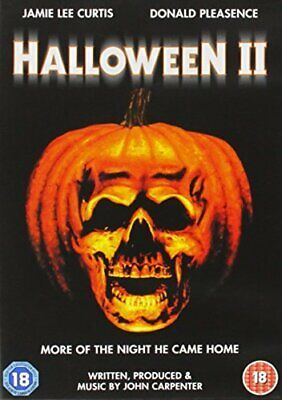 Halloween 2 - Halloween II (2011) - Jamie Lee Curtis, Donald New UK Region 2 DVD