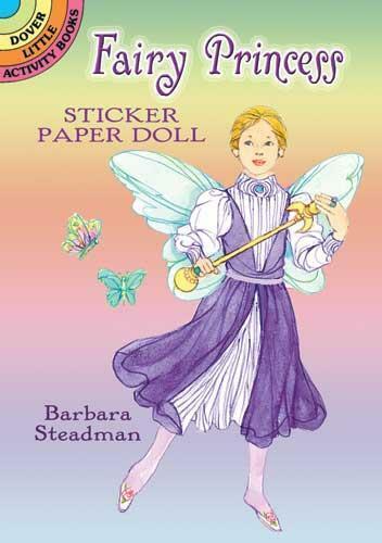 Fairy Princess Stickers Paper Doll Little Activity Book Barbara Steadman