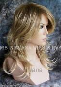 Long Dark Blonde Wig