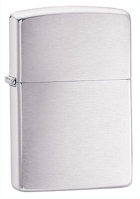 "Zippo ""Armor"" Brushed Chrome Lighter, Full Size, Low Ship, 162 on Rummage"