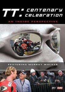TT: CENTENARY CELEBRATION DVD NEW..ISLE OF MAN MOTORBIKE ROAD RACING RIDERS FANS