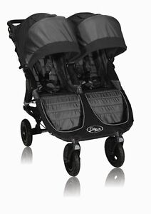Baby Jogger 2013 City Mini Gt Double Stroller Black Shadow