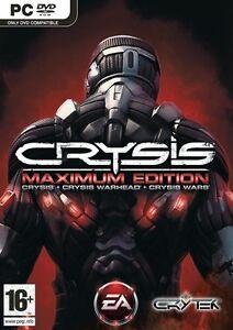 CRYSIS-MAXIMUM-EDITION-CRYSIS-CRYSIS-WARHEAD-CRYSIS-WARS-SEALED-NEW