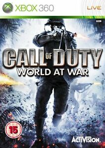 Call of Duty: World at War (Xbox 360) Xbox 360