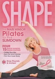 Pilates DVD - Winsor Pilates DVD Slimdown - 4 Workouts!