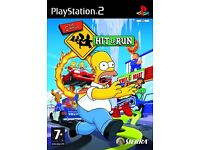 THE SIMPSONS HIT & RUN!! (PS2)
