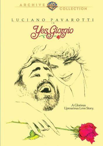 YES GIORGIO (1982 Luciano Pavaraotti) -  Region Free DVD - Sealed