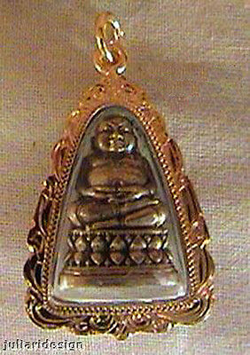 BUDDHA BUDDHIST THAI AMULET PENDANT 4