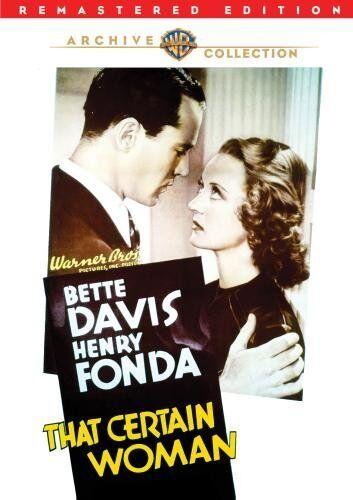 THAT CERTAIN WOMAN (1937 Bette Davis) remastered Region Free DVD - Sealed