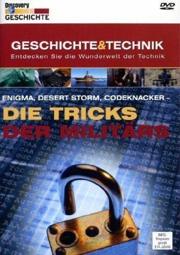 DVD/ Discovery Geschichte & Technik, 7: Die Tricks der Militärs !! NEUWARE !!