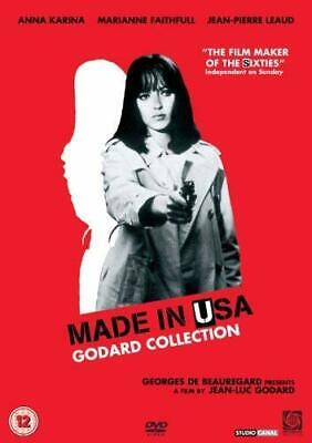 Made in USA (1966) (DVD) Anna Karina, Marianne Faithfull, Jean-Pierre Leaud