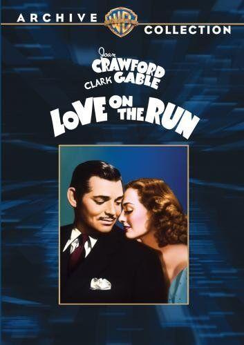 LOVE ON THE RUN - (B&W) (1936 Joan Crawford) Region Free DVD - Sealed