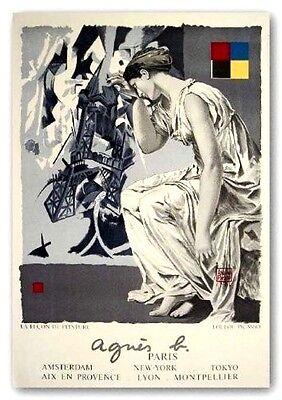 LouLou Picasso Lithograph Le Lecon De Peintre Agnes B Design Fashion France 1986