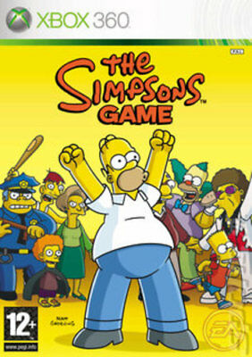 The Simpsons Game (Xbox 360) VideoGames