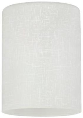 Westinghouse 8101600 - 2-1/4-Inch Handblown White Linen Cylinder Shade