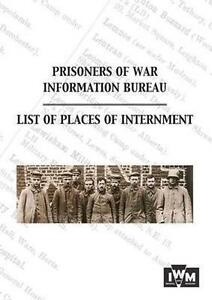 Lists of Places of Internment, Anon, New, Paperback